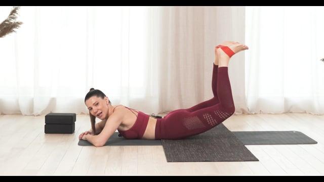 Первое занятие для курса на осознание ягодичных мышц, вытяжение ППМ (подвздошно-поясничная мышца)