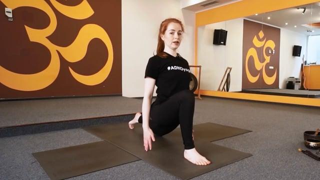 Йога комплекс для улучшения подвижности позвоночника с элементами скруток